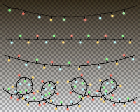 string: christmas lights set