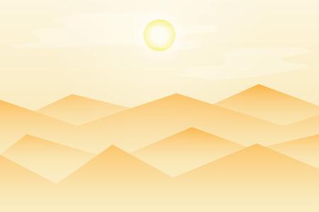 swelter: desert landscape Stock Photo