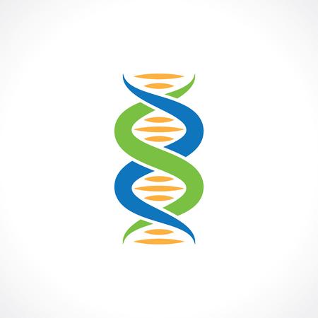 genomes: symbol of dna Stock Photo