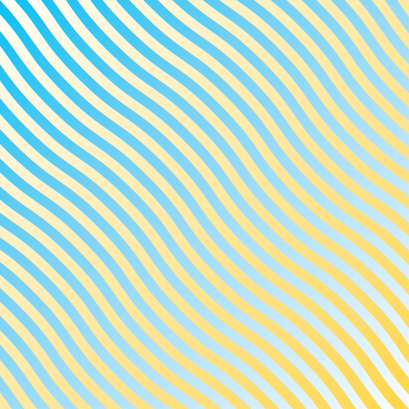 stripes waves Иллюстрация