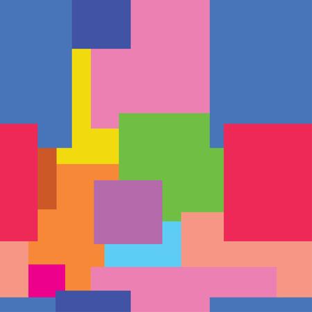 colored squares Foto de archivo