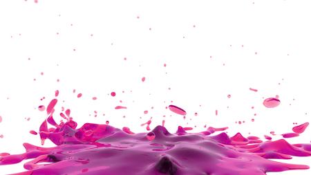 pink liquid Foto de archivo