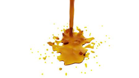 honey-colored liquid Foto de archivo