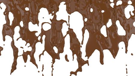 flowing molten chocolate Фото со стока - 96554967