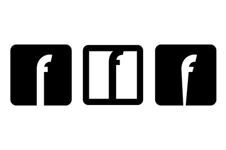symbol of letter f