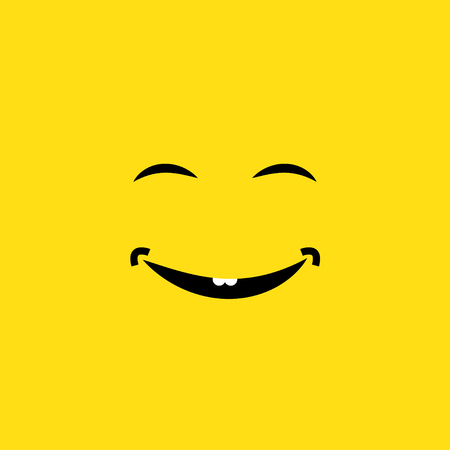 smiley face vector illustration