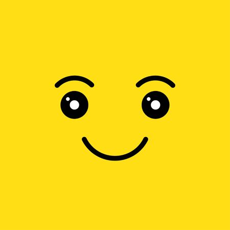 happy smiling face Illustration