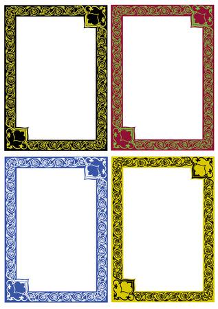 color decor frames