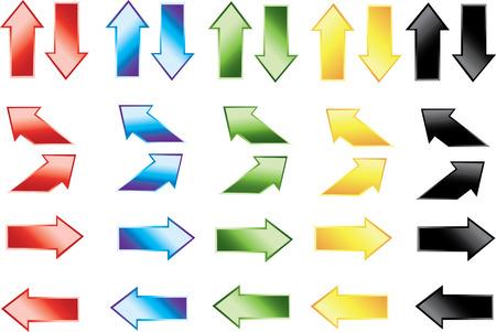 color arrow icons