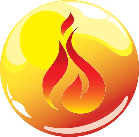 fire sphere icon