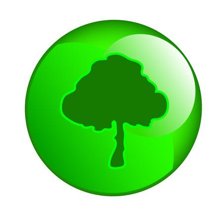 tree sphere icon