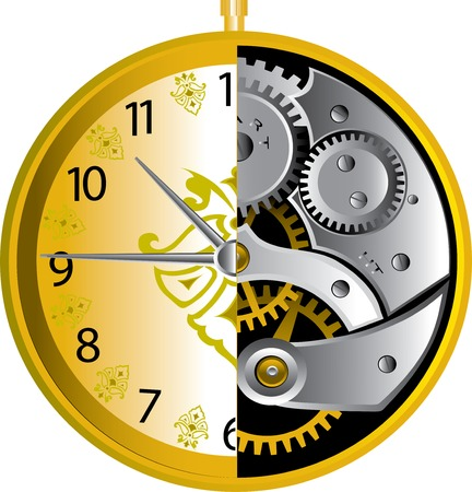 clock Stock Vector - 4523902