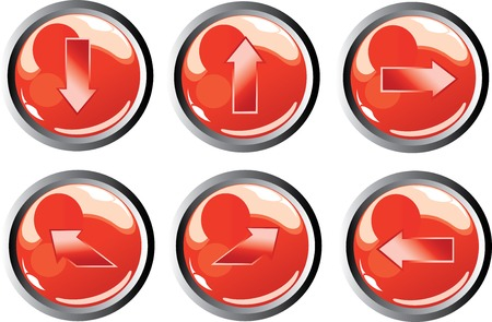 red arrow buttons