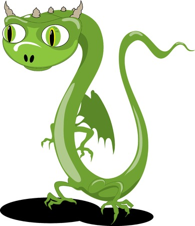 little dragon Illustration