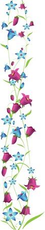 plant decor elements Illustration