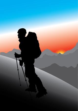 mountaineer Stock Vector - 4657685