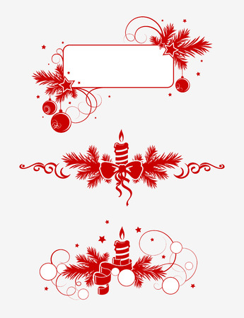 christmas decor elements