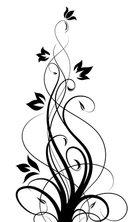 abstract floral pattern Illustration