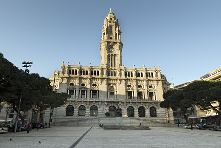 Camara Municipal de Porto - City Hall in Porto, Portugal
