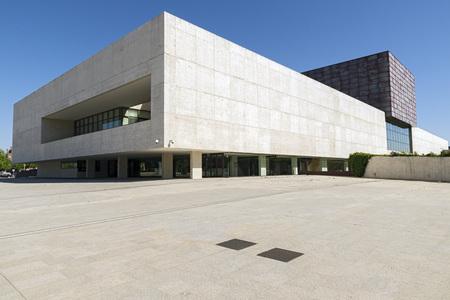 Len Modern valladolid spain july 10 2015 modern building of the castile