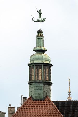 pinnacle: pinnacle of a building in Gdansk, Poland