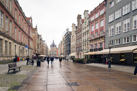 notable: Golden Gate in Gdansk, Poland, is one of the most notable tourist attractions of the city. It is located at one end of Long Lane Editorial