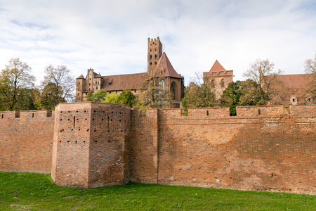 teutonic: The Castle in Malbork - Capitol of the Teutonic Order of Crusaders, Poland