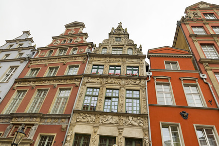townhouses: townhouses in the city of gdansk Editorial
