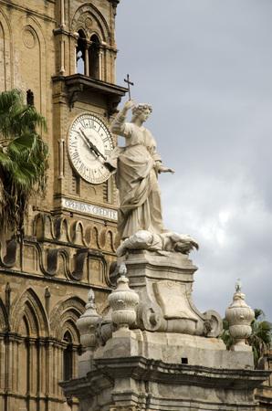 patron: Saint Rosalia is the patron saint of Palermo,