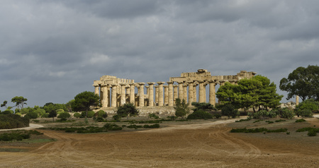 doric: Temple E (or Heras Temple) - dating from the end of the first half of the 5th century BC, in the Doric style.