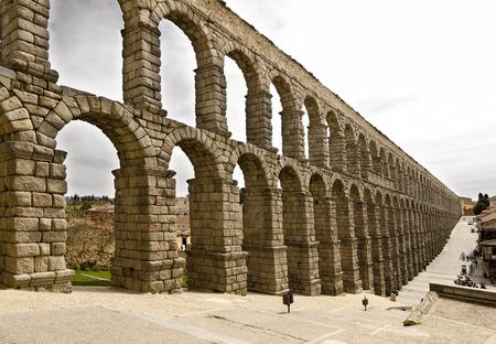 segovia: Roman Aqueduct of Segovia, Spain