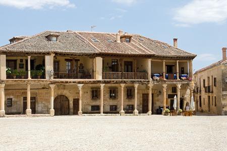 segovia: Village of Pedraza, in the province of Segovia, Spain Stock Photo