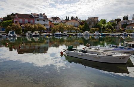 mediterranean culture: Marina in Zadar, Adriatic sea, Croatia