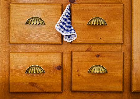 drawers: four drawers for storing clothes table