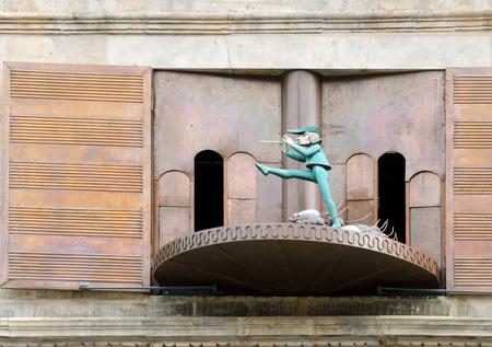 piper: Pied Piper carillon in Hameln (Germany)