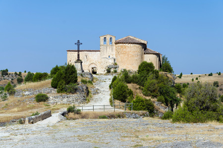 hermitage: Hermitage of San Frutos, Hoces del Duraton, Segovia, Spain