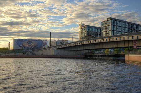 political party: View of the CDU political party offices from the river Spree, Berlin Editorial