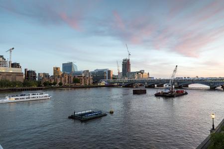 illuminated: London landmarks illuminated dusk