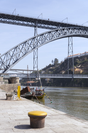 oporto: Dom Luis I bridge, Oporto, Portugal Stock Photo