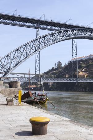 oporto: Dom Luis I bridge, Oporto, Portugal Stock Photo