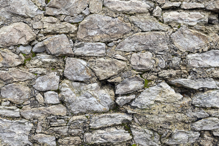 stone wall: Background - Stacked Stone Wall.