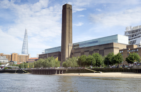 arts culture and entertainment: Tate Modern (the disused Bankside power station) London.