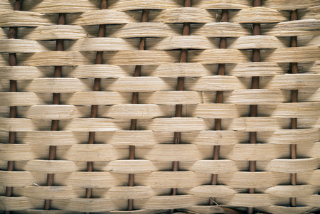 interlocked: Backgrounds Patterns. Basket texture, natural straw
