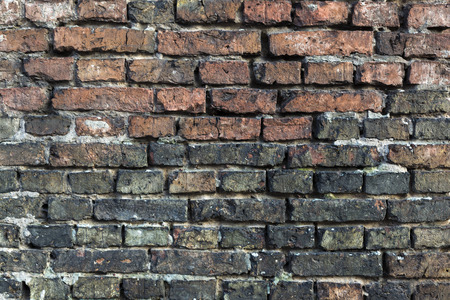 brownstone: Background of brick wall texture Stock Photo