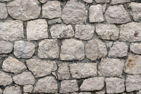 stone: Background - Stacked Stone Wall.