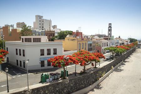 santa cruz de tenerife: Cityscape of Santa Cruz de Tenerife. Canary Islands, Spain Stock Photo