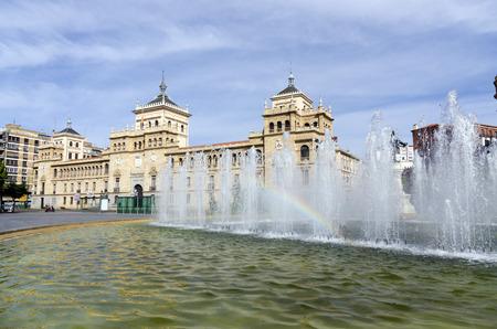 cavalry: Cavalry Academy in Paseo de Zorrilla, Valladolid, Spain