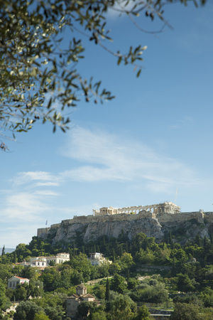 classicism: View of the Acropolis of Athens from the Ancient Agora
