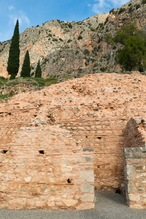 inscribed: The archaeological site of Delphi has been inscribed upon the the World Heritage List of UNESCO