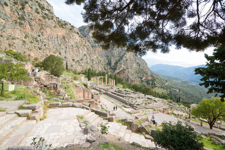 archaeological: The archaeological site of Delphi has been inscribed upon